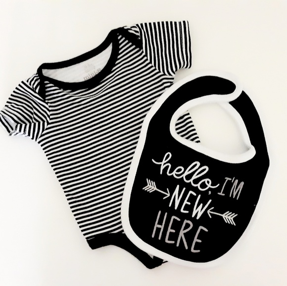 Other - 3 Piece Black & White Outfit